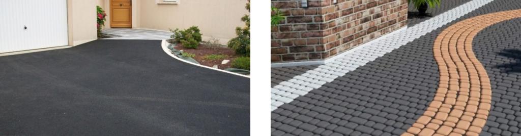 Что лучше выбрать – тротуарную плитку или асфальт?